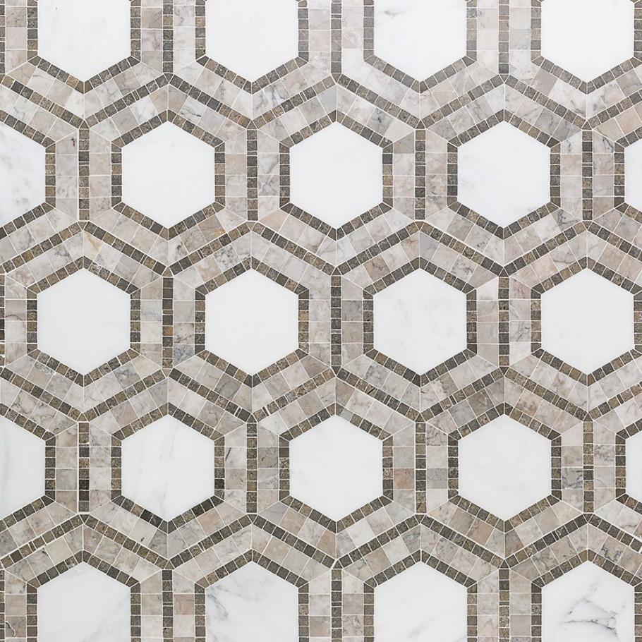 Nova Andromeda Marble Tile